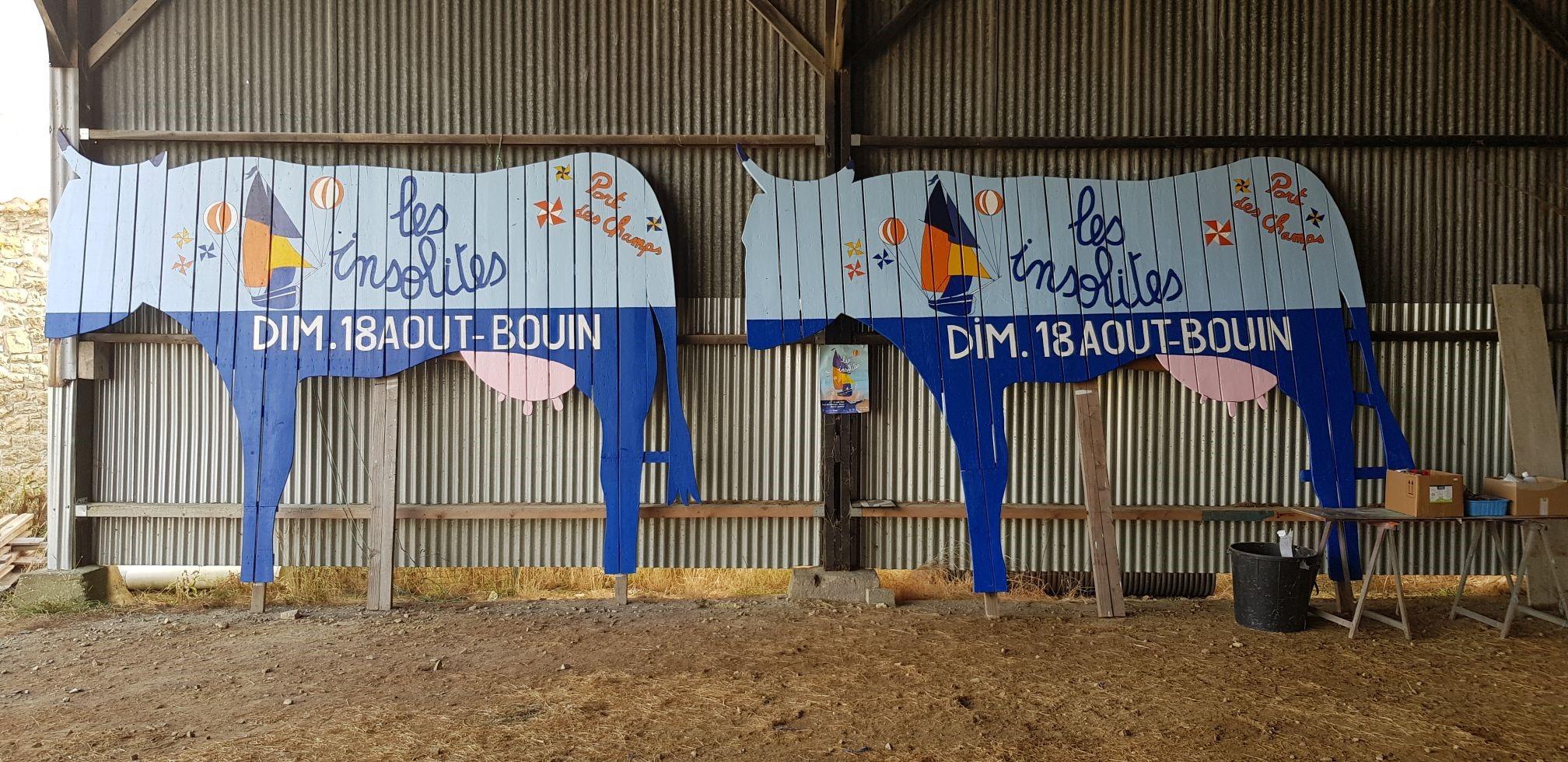 vaches peintes